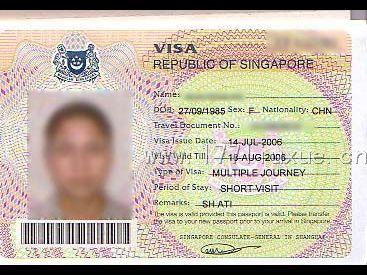 关于如何办理新加坡签证