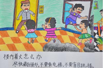 校园环保漫画手绘